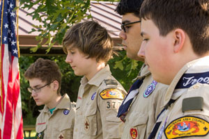 Scouts can use Friend Tree for Fundraising